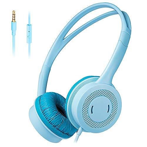 Kinderen Hoofdtelefoon, Kids Wired Headphone Over Ear Met Hoofdtelefoon Volume Limited Koptelefoon Met 3,5 Mm Jack Voor Jongens Meisjes Children School Travel PC MP3