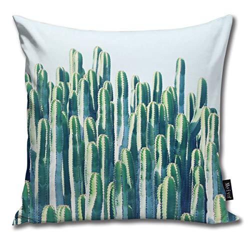 Rasyko Cactus V2#Redbubble #Home #Lifestyle #buyart #decorThrow Kissenbezug für Geschenk Zuhause Couch für Bett Auto Sofa Größe: 45,7 x 45,7 cm