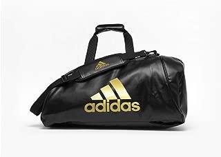 Adidas ADIACC051G-M Sports Bag 2 in 1 - Black/Gold - Medium