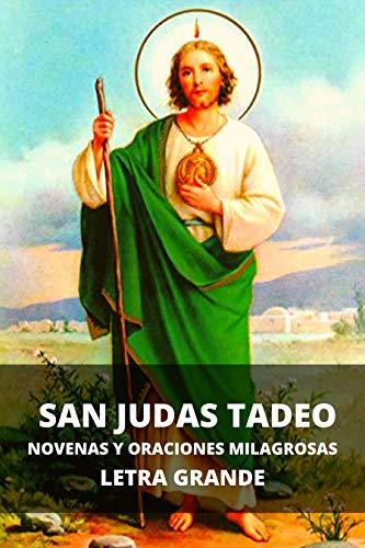 San Judas Tadeo. Novenas y oraciones milagrosas: Letra grande