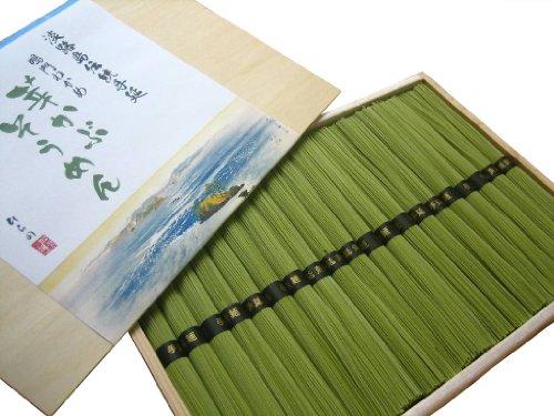 平野製麺所 淡路島自然派手延べ鳴門わかめ芽かぶそうめん 1000g