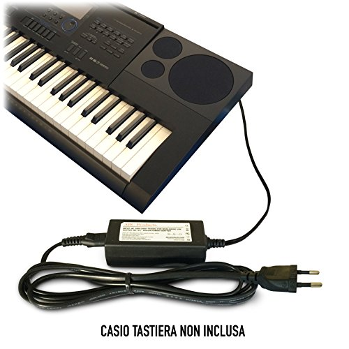 Sostituzione Casio DC 12V / 12V Volt, Alimentatore, Alimentazione, Adattatore Cavo di Alimentazione AD-A12150LW, AD-A12150, Privia PRO per Synthesizers/Digital Piano's/Keyboards / Tastiera