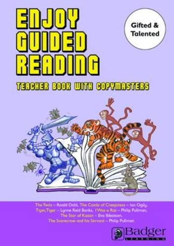 Enjoy Guided Reading: Gifted and Talented Years 3-6 Teacher Book & CD