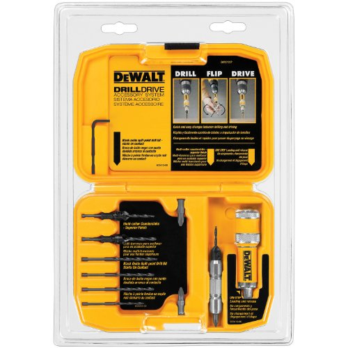 DEWALT DW2735P Drill Flip Drive Kit, 12-Piece, Black