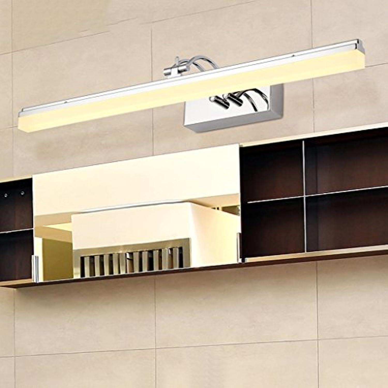 Die Erntezeit Spiegel-vorderes helles geführtes Badezimmer-Spiegel-heller Kabinett-Verfassungs-Lichter Einfache Wand-Lampe   Anti-fog Highlight LED ( gre    39CM )