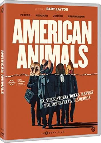 PETERS,KEOGHAN,JENNER,ABRAHAMSON,KIER,DOWD - AMERICAN ANIMALS (1 BLU-RAY)