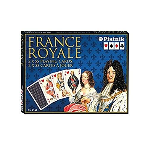 Piatnik - Carte da Bridge France Royale [Importato dalla Germania]