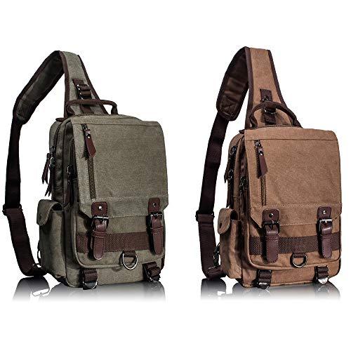 Leaper Canvas Messenger Bag Bundle