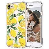 MOSNOVO iPhone SE 2020, iPhone 8 Hülle, iPhone 7 Hülle, Zitrone Muster TPU Bumper mit Hart Plastik Hülle Durchsichtig Schutzhülle Transparent für iPhone 7 / iPhone 8 / iPhone SE 2020 (Lemon)