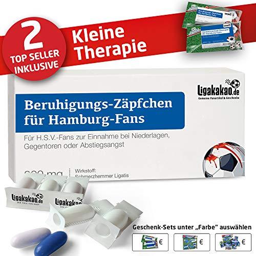 männer Geschenk Set ist jetzt die KLEINE Therapie für HSV-Fans by Ligakakao.de