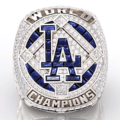 GYAM Ring 2020 Los Angeles Dodgers Meisterschaftsring, Verwendet Für Fangeschenke Valentinstag Geburtstagsgeschenke,14