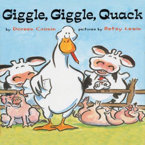 Page de couverture de Giggle, Giggle, Quack