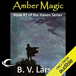 Amber Magic audiobook cover art