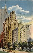 Hotel Tudor New York, New York Original Vintage Postcard