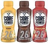 Core Power 26g High Protein Milk Shake - 12 - 11.5oz Bottles (3 Flavor Variety Pack)