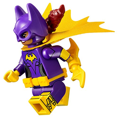 LEGO Batgirl, Yellow Cape with Bat-a-Rang Minifigur The Batman Movie