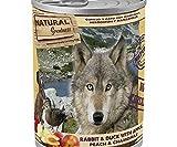 Natural de la Grandeza de Conejo, Pato, Manzanas, Duraznos Para Perros 400g, Natural Grandeza, Alimentos Enlatados, los Perros