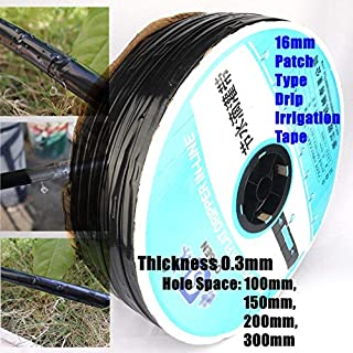 Garden Hoses & Reels - 1000m Thickened 16 * 0.3mm Space 10~40cm Patch Type Irrigation Drip Tape Greenhouse Farm Water Savi...