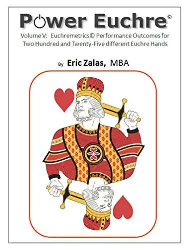 Power Euchre Volume V: Euchremetrics Performance Outcomes for Two Hundred Twenty-Five different Euchre Hands