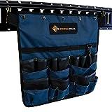 DC Cargo Mall E-Track Hanging Pocket Tool Organizer - E-Track Accessories for Enclosed Trailer, Workshop, & Garage - Wall Hanging Tool Organizer