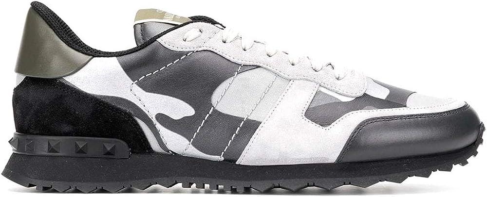 Valentino rockrunner, sneakers, scarpe per uomo ,in pelle,numero 42 EU SY2S0723XVU IJ7