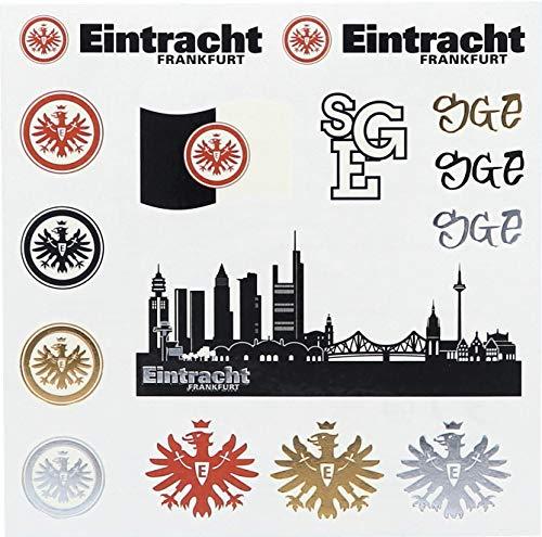 Eintracht Frankfurt Tattoo-Set 15 Stück