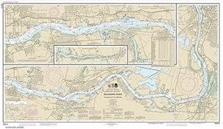 Synthetic Media NOAA Chart 12314: Delaware River Philadelphia to Trenton