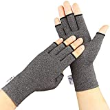 Arthritis Gloves, 2 Pairs Compression Gloves for Women Men,...
