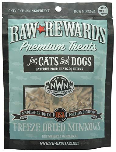 Northwest Naturals Raw Rewards Freeze-Dried Minnows 1 Ounce