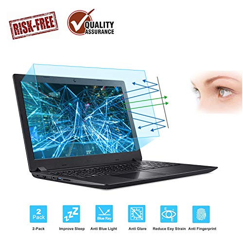 2-Pack 15.6 Inch Laptop Screen Protector -Blue Light and...