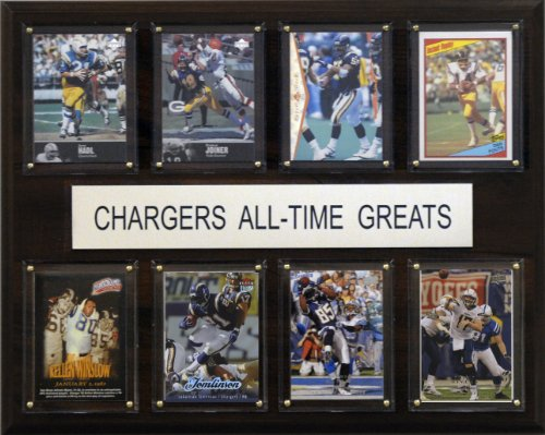 NFL San Diego Chargers All-Time Greats Plaque