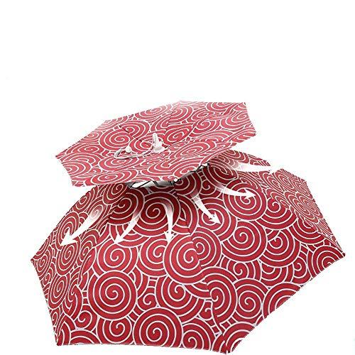 Sombrero de Paraguas a Prueba de Viento, Grande, Plegable, para Adultos, con...
