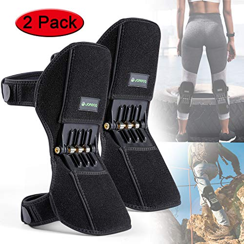 JOMECA Knee Boost 2 Pack, Powerlifts Spring Joint Support Knee Brace, Powerful Rebounds Spring Force...