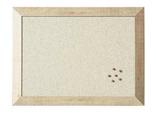Bi-Silque Kamashi Bianco stoffen tafel met houten frame modern design 90x60 cm wit