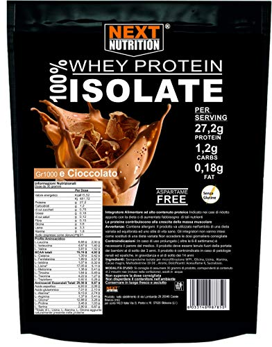 Proteine 100% Isolate WHEY V.B. 104 KG 1 gusto Cacao Immediata Assimilazione | Solo 0,18gr di Grassi e 1,2gr di Carboidrati Recupero Muscolare Senza Glutine Prodotte in Italia Prodotte in Italia