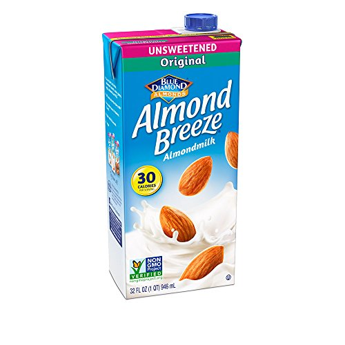 Almond Breeze Dairy Free Almondmilk, Unsweetened Original, 32 Fluid Ounce