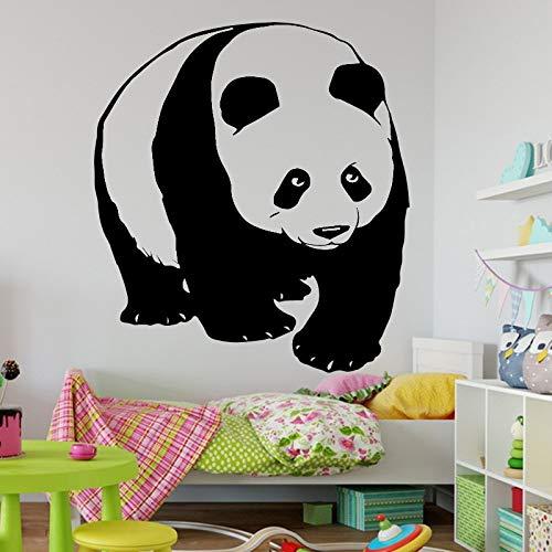 Vcnhln Pegatinas de Pared de Animales Panda patrón Arte Mural Vinilo Tatuajes de Pared Animales Lindos decoración del hogar para niños Dormitorio 57X63 cm