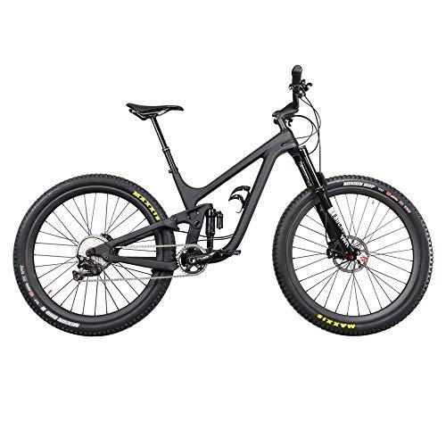 29er Enduro Mountain Bike P9 Full Suspension MTB Bike with Shimano XTM800 Groupset UD Matte