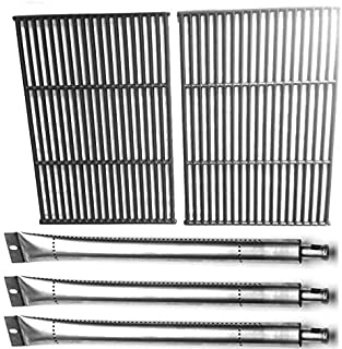 Replacement Kit for GrillPro 224069, Perfect Flame 276964L, Lowes & Sterling 535069R, 535869, 538289 Gas Models Includes Cast Iron Grates & 3 Grill Burners