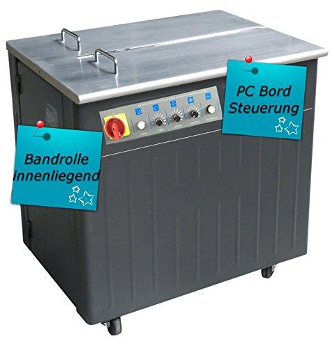 halbautomatische Umreifungsmaschine UPA2C - Bündelmaschine - Umreifungsautomat - Bändermaschine - Umreifungsgerät - PP Band Umreifung