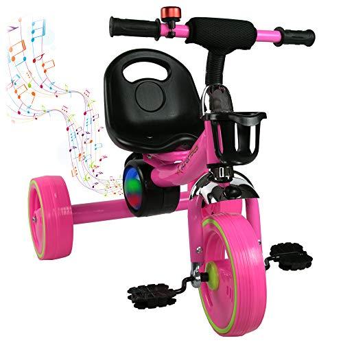 Airel Kinder Laufrad Balance | Dreirad für Kleinkinder | Laufräder Jungen Mädchen | Kinderdreirad Baby | Laufrad mit Pedalen
