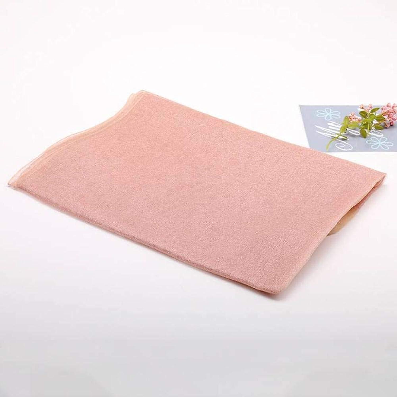 Female Silk Scarf Summer Seaside Travel Beach Towel Pure color Gift Hqysjin