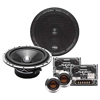Skar Audio SPX-65C 6.5  2-Way High Performance Component Speaker System - Set of 2