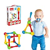 Goobi Juniors 20 Piece Construction Set Large Building Blocks Developmental Play Sticks STEM...