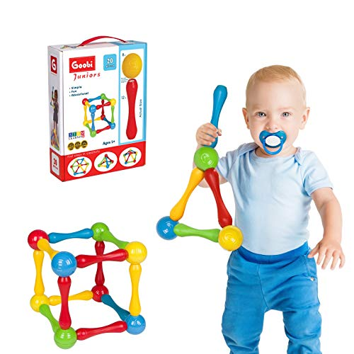 Goobi Juniors Magnetic Construction Set