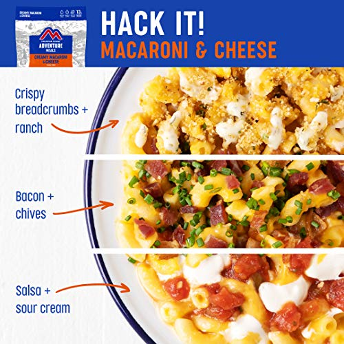 Mountain House Creamy Macaroni & Cheese | Freeze Dried Backpacking & Camping Food | 2 Servings