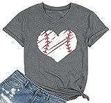 MYHALF Women T-Shirt Cute Graphic Tee Shirts Casual O-Neck Tee Shirt