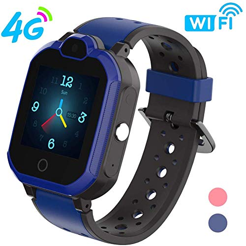 4G Kids Smartwatch/Kids GPS Waterdichte Smartwatch/Wifi-Oproep, Videochat, Real-Time Positie, Geo-Fence Touch Screen Camera SOS Alarm Anti-Lost GPS/LBS Voor Jongens En Meisjes