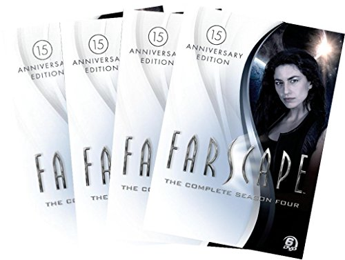 Farscape: The Complete Series Collection DVD Set Seasons 1, 2, 3 & 4 (15th Anniversary Limited Edition)