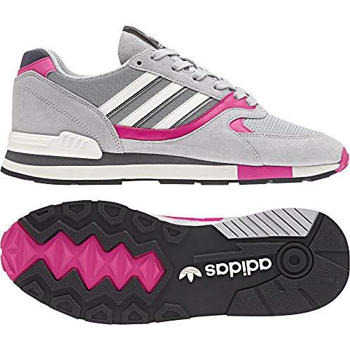 Adidas Quesence, Zapatillas de Deporte para Hombre, Gris (Gridos/Rosimp/Gricua 000), 47 1/3 EU